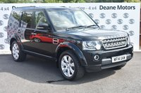 USED 2014 14 LAND ROVER DISCOVERY 3.0 SDV6 XS 5d AUTO 255 BHP FULL LR HISTORY