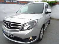 USED 2015 65 MERCEDES-BENZ CITAN 1.5 111 CDI SPORT 1d 110 BHP MERCEDES CITAN SPORT IN SILVER..LOW MILES WITH AIRCON