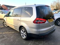 USED 2011 11 FORD GALAXY 2.2 TITANIUM X TDCI 5d 197 BHP 4 STAMPS 2 KEYS ONLY 47,000 MILES, 4 SERVICES, FULL BLACK LEATHER,