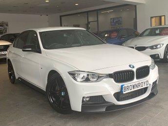 2017 BMW 3 SERIES 3.0 330D M SPORT 4d AUTO 255 BHP £19990.00