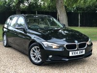 USED 2014 14 BMW 3 SERIES 2.0 320D EFFICIENTDYNAMICS BUSINESS TOURING 5d 161 BHP 2 OWNER  GREAT SPEC SAT NAV