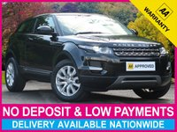 USED 2015 15 LAND ROVER RANGE ROVER EVOQUE 2.2 PURE TECH COUPE 3DR SAT NAV LEATHER SATELLITE NAVIGATION LEATHER CLIMATE CONTROL CRUISE