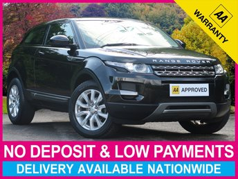 2015 LAND ROVER RANGE ROVER EVOQUE 2.2 PURE TECH COUPE 3DR SAT NAV LEATHER £16970.00