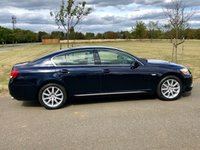 USED 2007 57 LEXUS GS 3.0 300 SE AUTO 245 BHP 4DR SALOON 1 OWNER+11 STAMPS+LEATHER+