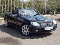 2003 MERCEDES-BENZ SLK 2.3 SLK230 KOMPRESSOR 2d AUTO 197 BHP £3445.00