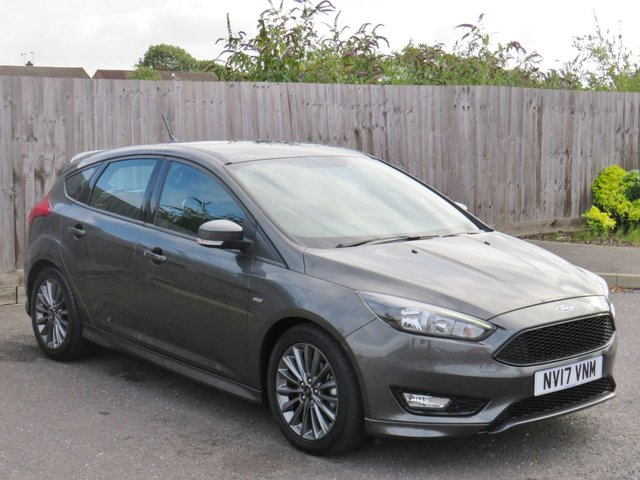 USED 2017 17 FORD FOCUS 1.5 ST-LINE TDCI 5d 118 BHP LOW MILEAGE