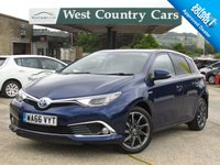USED 2016 66 TOYOTA AURIS 1.8 VVT-I EXCEL TSS 5d AUTO 99 BHP Eco-Friendly Family Hatchback