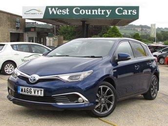 2016 TOYOTA AURIS 1.8 VVT-I EXCEL TSS 5d AUTO 99 BHP £15000.00