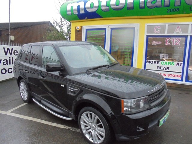USED 2010 10 LAND ROVER RANGE ROVER SPORT 3.0 TDV6 HSE 5d AUTO 245 BHP ** ** JUST ARRIVED ** **DIESEL AUTOMATIC