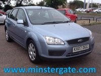 2007 FORD FOCUS 1.6 LX 5d 100 BHP * FULL FORD SERVICE HISTORY, 2 OWNERS * £2190.00