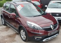 USED 2013 13 RENAULT SCENIC 1.5 XMOD DYNAMIQUE TOMTOM ENERGY DCI S/S 5d 110 BHP Low Miles - 6 Renault Services - £20 Tax - Big Spec