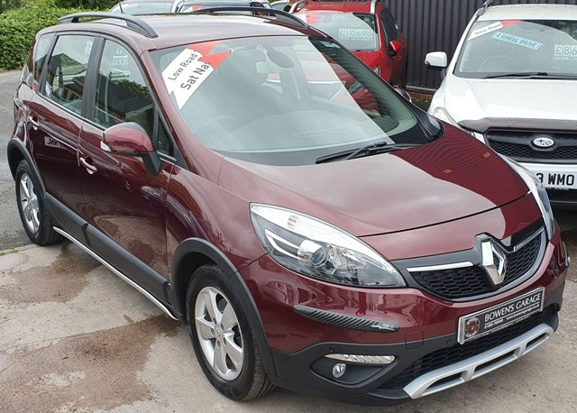 2013 13 RENAULT SCENIC 1.5 XMOD DYNAMIQUE TOMTOM ENERGY DCI S/S 5d 110 BHP