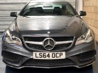 USED 2014 64 MERCEDES-BENZ E CLASS 2.1 E220 CDI AMG Sport Coupe 2dr Diesel 7G-Tronic Plus (129 g/km, 175 bhp) +FULL SERVICE+WARRANTY+FINANCE