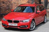 USED 2012 62 BMW 3 SERIES 2.0 320d Sport Touring (s/s) 5dr SATNAV-FULL LEATHER- 19'ALLOYS