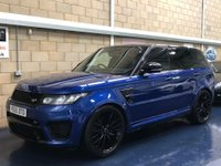 USED 2015 65 LAND ROVER RANGE ROVER SPORT 5.0 V8 Supercharged SVR SUV 5dr Petrol Automatic 4X4 (s/s) (298 g/km, 550 bhp) +FULL SERVICE+WARRANTY+FINANCE