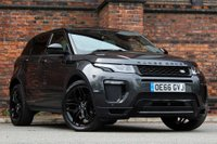 USED 2016 66 LAND ROVER RANGE ROVER EVOQUE 2.0 TD4 HSE Dynamic Lux Auto 4WD (s/s) 5dr BLACK PACK-PAN ROOF-360 CAMERA