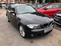 USED 2008 58 BMW 1 SERIES 2.0 118D M SPORT 5d 141 BHP GREAT FUEL ECONOMY AND PERFORMANCE, CLIMATE CONTROL, REAR PARKING AID SUPPLIED WITH A NEW MOT