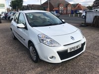 USED 2010 10 RENAULT CLIO 1.5 EXPRESSION DCI 5d 86 BHP £30 ROAD TAX-FULL HISTORY-1 FORMER KEEPER-DIESEL-5 DOOR