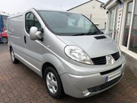 USED 2014 14 RENAULT TRAFIC 2.0 SL27 SPORT DCI S/R P/V 1d 115 BHP PERFECT ADDITION TO COMPANY FLEET - REFRIGERATED VAN