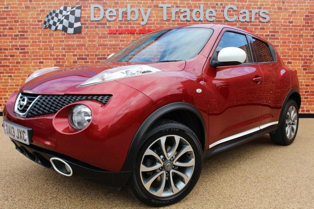 NISSAN JUKE at Derby Trade Cars