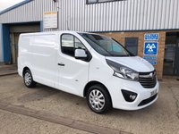 USED 2015 15 VAUXHALL VIVARO 1.6 2900 L1H1 CDTI P/V SPORTIVE 1d 115 BHP 1 OWNER - 3 MONTH RAC COVER AND 12 MONTH COMPLIMENTARY BREAKDOWN COVER