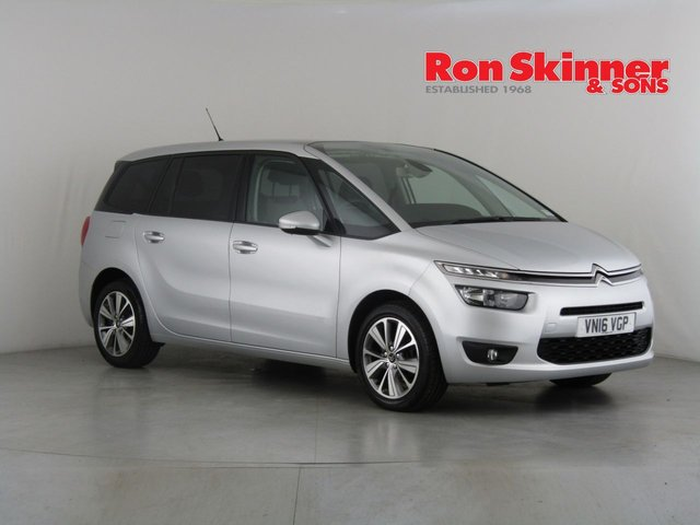View our 2016 16 CITROEN C4 GRAND PICASSO 1.6 BLUEHDI SELECTION 5d 118 BHP