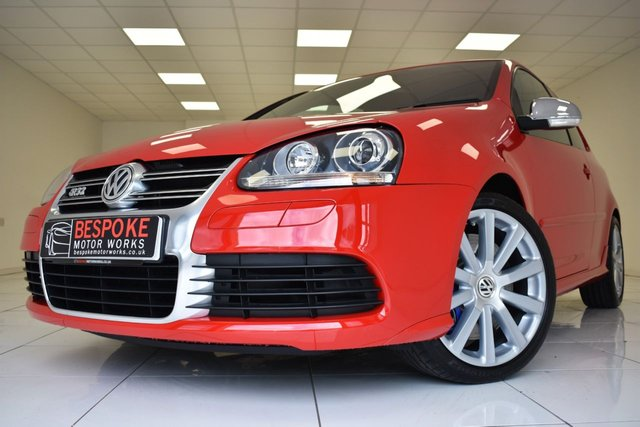 2008 58 VOLKSWAGEN GOLF 3.2 R32 3 DOOR