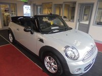 USED 2014 14 MINI CONVERTIBLE 1.6 ONE 2d 98 BHP JUST ARRIVED NO DEPOSIT FINANCE