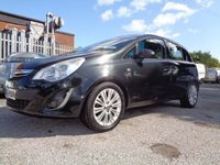 USED 2012 61 VAUXHALL CORSA 1.2 SE 5d 83 BHP AIR CONDITIONED ALLOY WHEELS