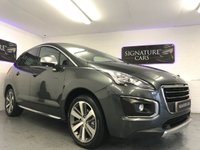 USED 2015 15 PEUGEOT 3008 1.6 BLUE HDI S/S ALLURE 5d 120 BHP