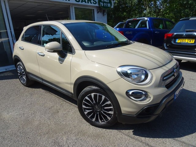 2018 68 FIAT 500X 1.3 CITY CROSS 5d AUTOMATIC 148 BHP