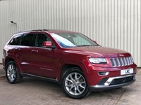 USED 2015 15 JEEP GRAND CHEROKEE 3.0 V6 CRD SUMMIT 5DR AUTO 247 BHP 1 OWNER