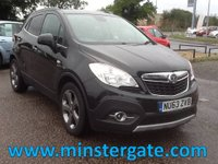 2013 VAUXHALL MOKKA 1.7 SE CDTI S/S 5d 128 BHP * LEATHER, GOOD SPEC, £30 TAX * £5990.00
