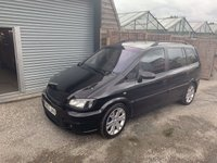 USED 2004 53 VAUXHALL ZAFIRA 2.0 GSI TURBO 5d 200 BHP SPARES OR REPAIRS