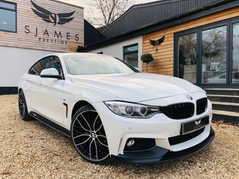 2016 BMW 4 SERIES 2.0 420D M SPORT GRAN COUPE 4d AUTO 188 BHP £17990.00