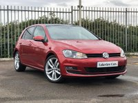 2016 VOLKSWAGEN GOLF 2.0 GT EDITION TDI BLUEMOTION TECHNOLOGY 5d 148 BHP ** PANORAMIC GLASS SUNROOF ** £11245.00