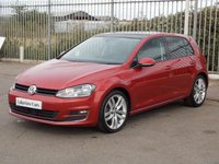 USED 2016 16 VOLKSWAGEN GOLF 2.0 GT EDITION TDI BLUEMOTION TECHNOLOGY 5d 148 BHP ** PANORAMIC GLASS SUNROOF **