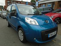 USED 2015 64 PEUGEOT BIPPER 1.2 HDI TEPEE STYLE 5d AUTO 75 BHP