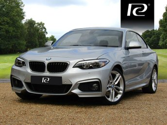 2015 BMW 2 SERIES 2.0 220D M SPORT 2d AUTO 188 BHP £41000.00