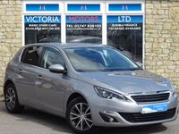 USED 2016 16 PEUGEOT 308 1.6 BLUEHDI S/S ALLURE [LEATHER] Turbo Diesel 5 Dr