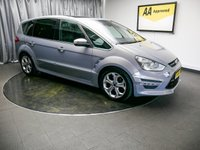 USED 2011 11 FORD S-MAX 2.2 TITANIUM X SPORT TDCI 5d 197 BHP £0 DEPOSIT FINANCE AVAILABLE, AIR CONDITIONING, AUTOMATIC HEADLIGHTS, AUX INPUT, BLUETOOTH CONNECTIVITY, CLIMATE CONTROL, CRUISE CONTROL, DAB RADIO, DAYTIME RUNNING LIGHTS, PANORAMIC ROOF, PARKING SENSORS, PRIVACY GLASS, STEERING WHEEL CONTROLS, TRIP COMPUTER