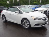 USED 2014 64 VAUXHALL CASCADA 1.4 ELITE S/S 2d 140 BHP 1 OWNER  HIGH SPEC LOW MILEAGE FSH