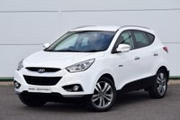USED 2015 15 HYUNDAI IX35 1.7 CRDI PREMIUM BLUE DRIVE 5d 114 BHP SAT NAV - LEATHER - HUGE SPEC