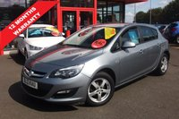 2013 VAUXHALL ASTRA 1.4 EXCLUSIV 5d 98 BHP £4495.00