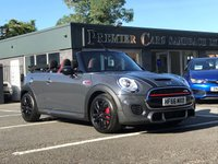 2016 MINI CONVERTIBLE 2.0 JOHN COOPER WORKS 2d AUTO 228 BHP £20990.00