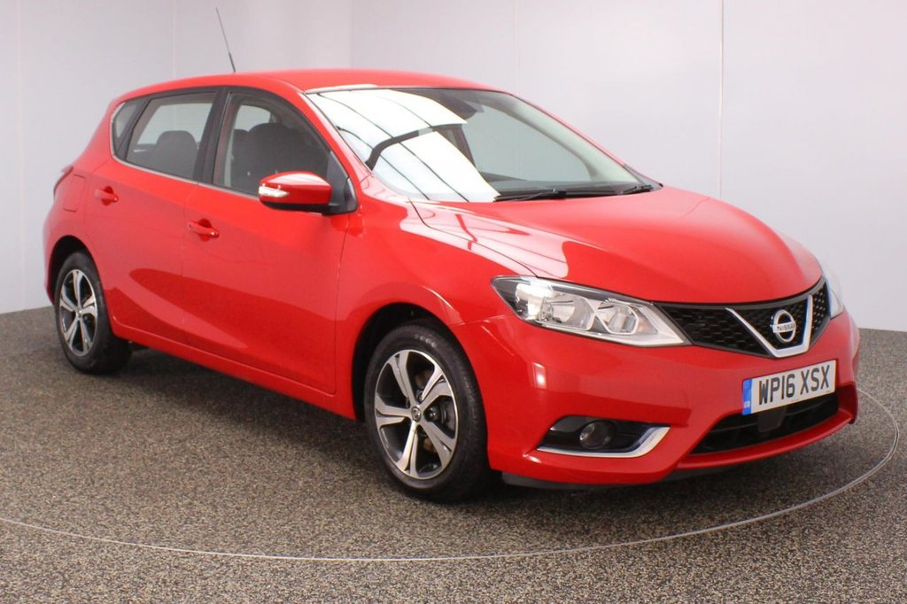 USED 2016 16 NISSAN PULSAR 1.5 ACENTA DCI 5DR 1 OWNER 110 BHP SERVICE HISTORY+ FREE 12 MONTHS ROAD TAX + BLUETOOTH + CRUISE CONTROL + AIR CONDITIONING + MULTI FUNCTION WHEEL + RADIO/CD/AUX + ELECTRIC WINDOWS + ELECTRIC MIRRORS + 16 INCH ALLOY WHEELS