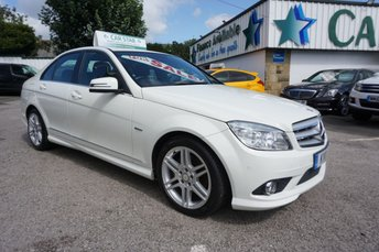 2011 MERCEDES-BENZ C CLASS C250 2.1 CDI BLUEEFFICIENCY SPORT ( LEATHER & SAT NAV ) £6989.00
