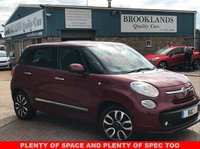 USED 2013 13 FIAT 500L 0.9 TWINAIR LOUNGE 5 DOOR OPERA RED METALLIC PANO ROOF 105 BHP PLENTY OF SPACE IN THIS FIAT 500 AND PLENTY OF SPEC TOO