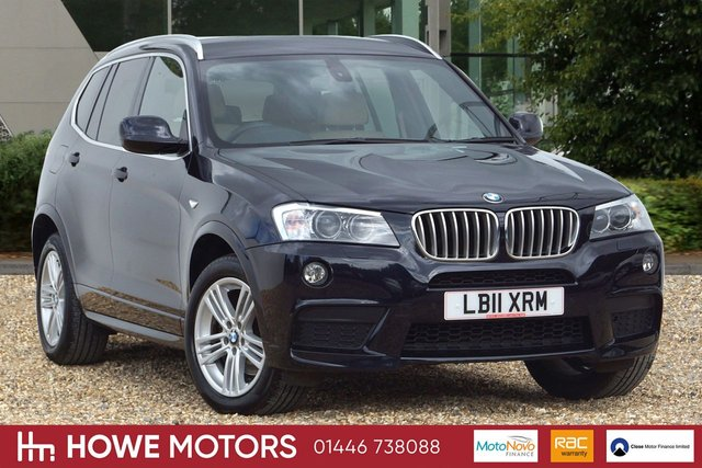 2011 11 BMW X3 3.0 XDRIVE30D M SPORT 5d AUTO 255 BHP PRO NAVIGATION FULL HEATED NEVADA LEATHER 18