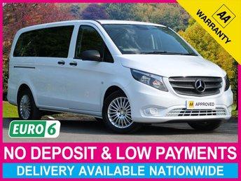 2018 MERCEDES-BENZ VITO 119 CDI TOURER AUTO LONG 8 SEAT MINIBUS AIR CON £21950.00